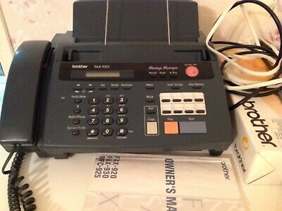 Brother Fax-930 Thermal Fax/Answering Machine/Telephone/Copier+Cartridge Pc-301