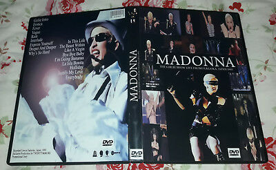 Madonna - Live Fukuoka 93, Japan, Girlie Show DVD SPECIAL FAN EDITION
