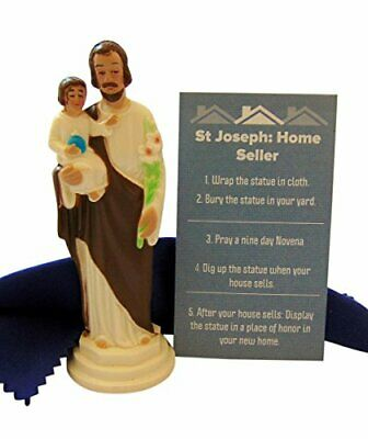 St Joseph Statues Statue For Selling Homes Kit With Instructions And Burial Set