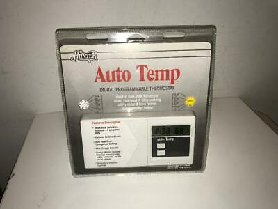 Hunter Auto Temp Programmable Thermostat 44402 1990