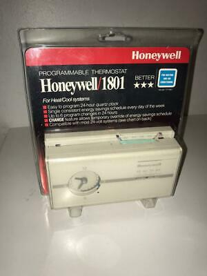 Honeywell CT 1801 Programmable Thermostat