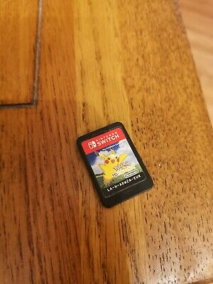 Pokemon Let's Go Pikachu Nintendo Switch Video Game