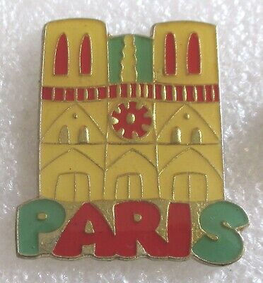 City of Paris, France Tourist Travel Souvenir Collector Pin-Notre-Dame Cathedral