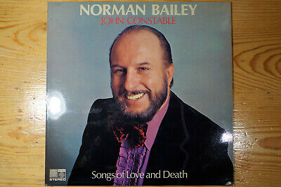 1 LP - SONGS OF LOVE AND DEATH (Beethoven, Schumann, Brahms). Bailey / Constable