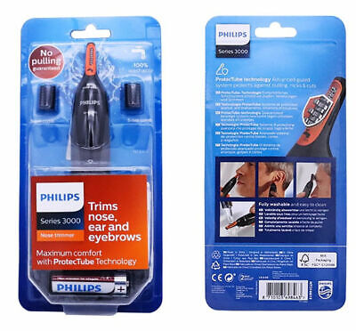 Philips Series 3000 Comfortable Men Nose Ear and Eyebrow Trimmer (NT3160/10)