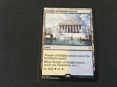 Temple of Enlightenment Theros Beyond Death THB MTG Magic the Gathering Card