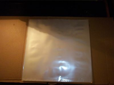 "10 ct 12"" 2 mil Clear Plastic Outer Sleeves/Jackets For Vinyl Records Album Lp"