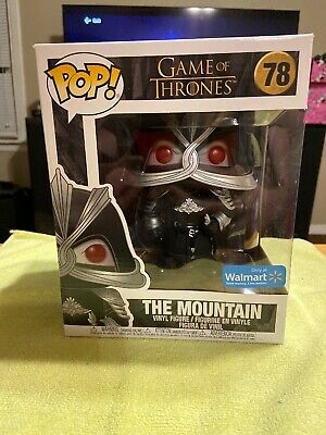 Funko Pop The Mountain #78 Game Of Thrones 6 Inch Walmart Exclusive