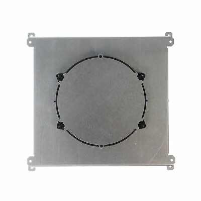Wiremold Rfb6E 6 Compartment Recessed Floor Box, Accepts Evo Series Round Covers