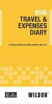 Travel & Expenses Diary 85W Vehicle Log By Wildon 85W WIl085