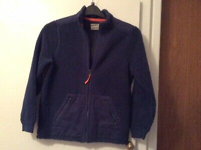 Marks And Spencer Boys Blue Fleece, Excellent Condition. Aged 11-12 Years