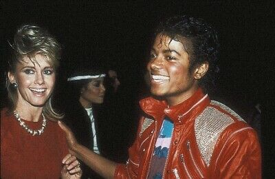 Olivia Newton John - With Michael Jackson !!!