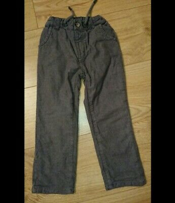 Boys Trousers in grey Aged 2 - 3 Years