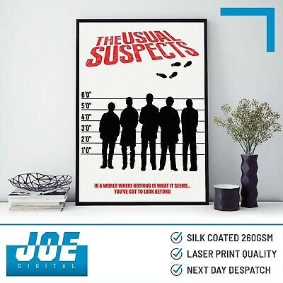 28cm x43cm Usual Suspects The Movie Poster #01 Art 11x17 Mini Poster