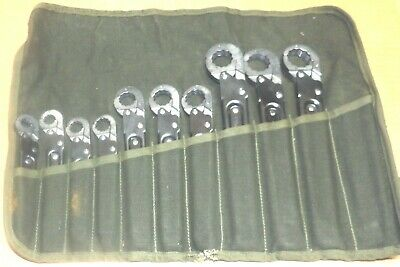 Military Stride Tool -Imperial Kwik Tite Ratchet Wrench Set-1963 Vietnam Era