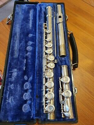 Gemeinhardt 2Sp Silver Plated Flute With Hard Case E42976