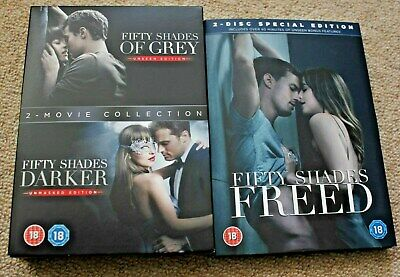 Fifty Shades of Grey - 3 Movie DVD Collection