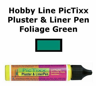 Pic Tixx Pluster and Liner Pen - Leaf Green