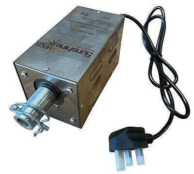 Heavy Duty Hog Roast Rotisserie Spit BBQ Motor in Stainless Steel - Up to 80kg