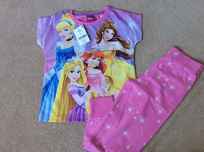 Next girl Disney Princess Pyjamas size 5 years NEW!