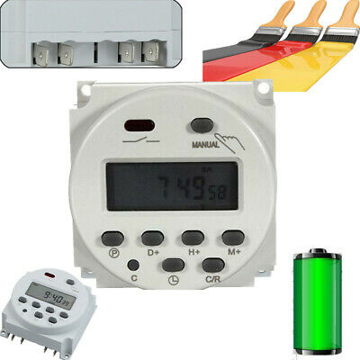 Digital Zeitschaltuhr LCD Display Timer Switch Programmierbar Timer Schalter 12V