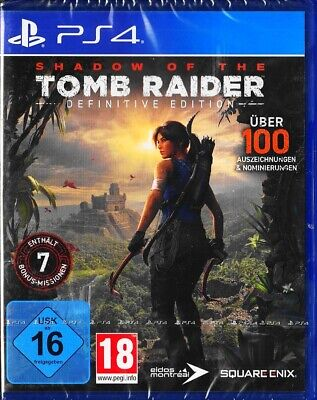 Shadow of the Tomb Raider Definitive Edition - PlayStation 4 / PS4 - Neu & OVP