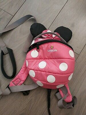 Littlelife Minnie Mouse Harness Bag