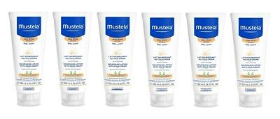 Mustela Nourishing Lotion with Cold Cream, Body, 6.76 Oz (Pack of 6)