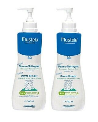 Mustela Baby Gentle Cleansing Gel, 16.9 Oz (Pack of 2)