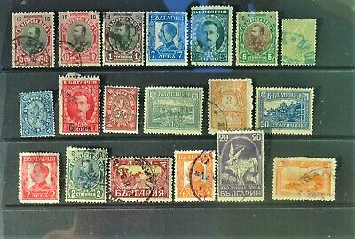 Bulgaria. Small group of early stamps