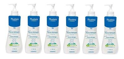 Mustela Baby Gentle Cleansing Gel, 16.9 Oz (Pack of 6)