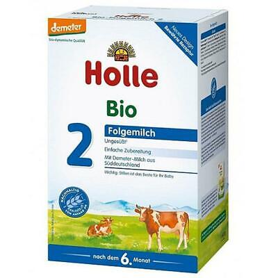 Holle Milk ORGANIC Baby Formula STAGE 2 600g From EUROPE- FREE SHIPPING