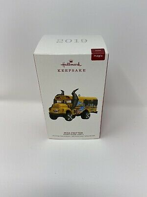 2019 Hallmark Miss Fritter Disney Pixar Cars 3 Keepsake Ornament