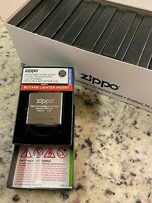 NEW Zippo Butane Insert - Double Torch - 65827 - Refillable with Butane Fuel