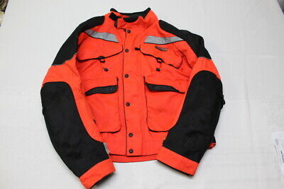 Olympia Moto Sports Motorcycle Jacket Mens 2Xl Black/Red