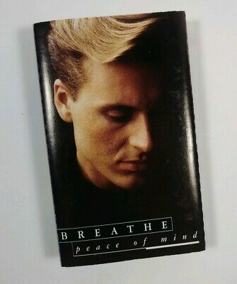 "Breathe ""Peace of Mind"" Vtg 1990 Cassette Tape Siren Records"