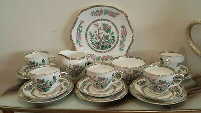 Vintage Duchess bone china England Tea Cups and saucers set( 18 items )
