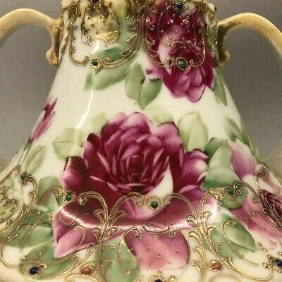 NIPPON MORIAGE VASE ART NOUVEAU Late 19th C.-Early 20th C.