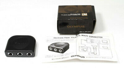 Olympus Electronic Flash TTL Auto Multi Connecter OM-System **MINT** Condition
