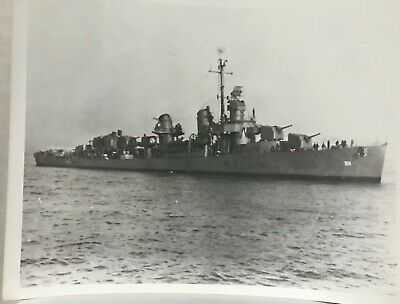USS Foote DD 511 CRUISE BOOK WWII on CD  RARE US Navy