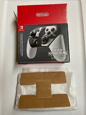 Nintendo Switch Pro Controller Box - Super Smash Bros Ultimate Box ONLY Inserts