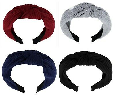 Cotton Knot Wrap Headband Aliceband Womens Girls Hair Accessories
