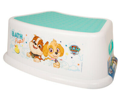 Paw Patrol Bath Time Pups Children Kids Step Stool