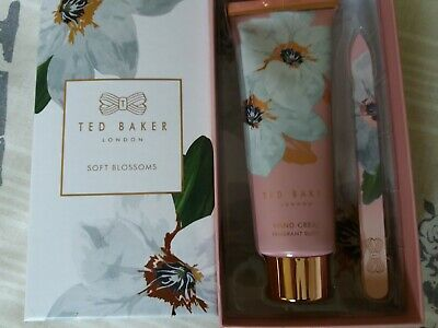 Ted Baker Soft Blossoms Fragrant Bloom Hand Cream & Glass Nail File Gift Set