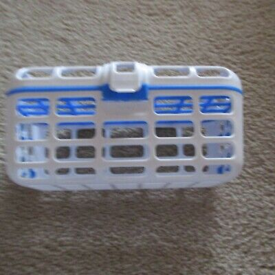 Munchkin Dishwasher Blue & White Basket Holder   Free Shipping