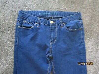 *** Womens Denim & Co Ultra Soft Super Skinny Blue Jeans Size 8 ***
