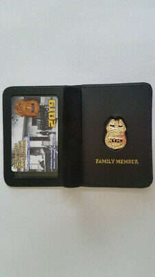 "1""Brand New"" 2019 Sba Pba Card With Leather Family Member Wallet Not Dea Cea Lba"