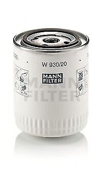 MANN-FILTER W 930/20 Oil Filter all01e04 OE REPLACEMENT TOP QUALITY