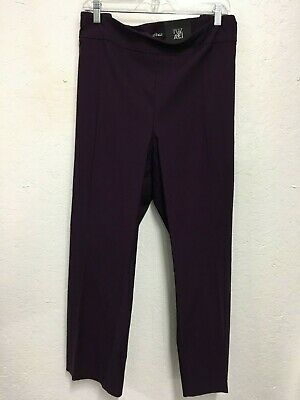 NEW w/Tags Dress Barn Roz & Ali Purple Dress Pants Pull-on, Stretch   22W or 24W