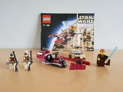 LEGO Star Wars Tusken Raider Encounter (7113) - Complete/3 minifigs/Instructions